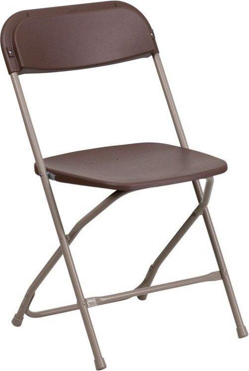 Folding Brown Chair